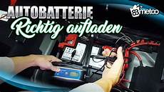 Autobatterie Aufladen Autobatterie Wieder Aufladen Mit