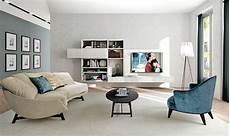 arredare pareti soggiorno realizzare l angolo hi tech formato famiglia in salotto