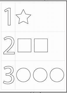 4 year old worksheets printable numbers preschool