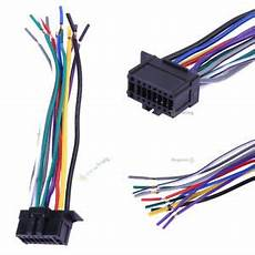 Car Stereo Cd Player Radio Wiring Harness Wire Adapter