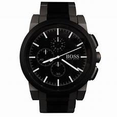 boss uhren herren schwarz hugo black watches new