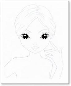 Ausmalbilder Topmodel Gesicht Pin Daidy M Auf Ausmalbilder Top Model Vorlagen