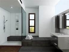 Walk In Shower In 50 Attractive Modern Bathrooms