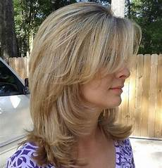 How To Style Medium Length Hair With Layers And Bangs