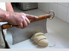Mezzaluna   Dough Cutter   Bread Knife