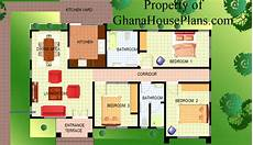 ghana house plan 3 bedroom semi detached ghana house plan living dining