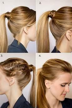 chic ponytail hairstyles for medium length hair fmag com