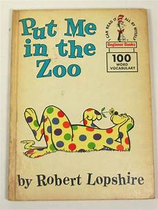 list of children s books from the 1960s 1960 put me in the zoo childrens book dr seuss beginner books ebay