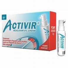 activir aciclovir 5 cr 232 me pompe doseuse 2g m 233 dicaments