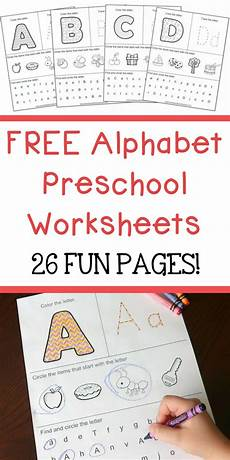 letter a writing worksheets for preschoolers 23682 free alphabet preschool printable worksheets to learn the alphabet