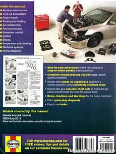 automotive repair manual 2009 honda pilot regenerative braking haynes honda accord 2003 2011 automotive service workshop repair manual