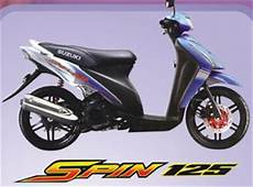 Modif Warna Motor Spin by Modifikasi Suzuki Spin Thailand Scooter Motor Contest