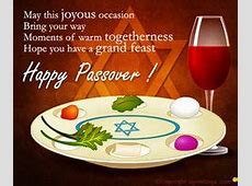 does one say happy passover