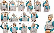 Pintar Pakai Jilbab Cara Memakai Jilbab Turban