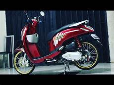 Scoopy 2018 Modif Simple by Scoopy Fi Modif Modifikasi Simple Concept Jari Jari
