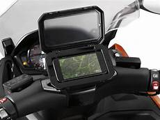 the bmw motorrad smartphone cradle is outrageously