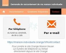 Comment Contacter Orange Maison Neuve