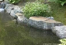 Gartenteich Anlegen Teil 5 Bei Der Teichumrandung Die