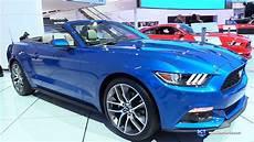 Ford Mustang Convertible - 2017 ford mustang convertible exterior and interior
