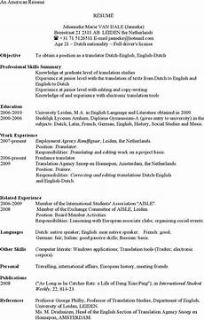 american resume exle template download free premium