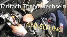 turbolader bei 4f audi a6 3 0 tdi selber wechseln