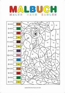 ausmalbilder rechnen grundschule rechnen und malen zr 20 matheaufgaben f 252 r die 1 klasse