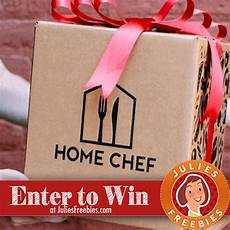 win a home chef gift card julie s freebies