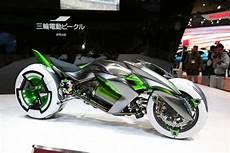 concept j la moto 233 lectrique 224 trois roues de kawasaki 224