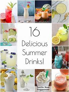 so creative 16 delicious summer drink recipes