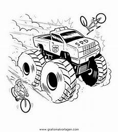 monstertruck monstertrucks 34 gratis malvorlage in