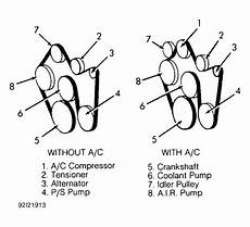 1993 gmc jimmy serpentine belt routing and timing belt diagrams