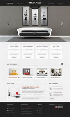 interior design moto cms html template 41853