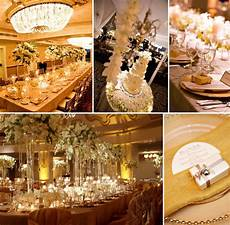 Wedding Themes White And Gold