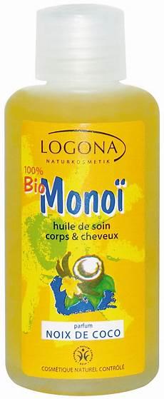logona mono 207 bio noix de coco huile de soin corps