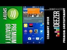 Avoir Un Compte Deezer Spotify Premium Gratuit Sur Android