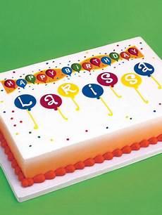 1 4 sheet girls birthday cake birthday designer prints sheet cake size 188 sheet skill level