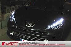 day time drl led projector lights peugeot 207 07 ebay