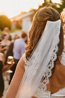 Wedding Hairstyles For Hair Half Up With Veil