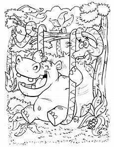 Kostenlose Malvorlagen Tiere Leveln Ausmalbilder Dschungeltiere 05 Malvorlagen Ausmalbilder