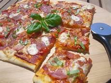 Leckeres Pizza Blech Rezept Mit Bild Shanai