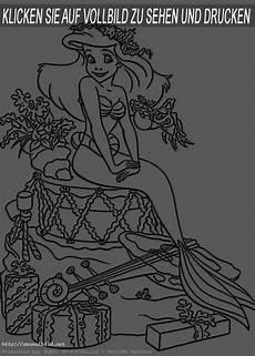Ausmalbild Arielle Baby Prinzessin 2 Ausmalbild