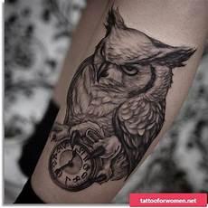 evil owl - Coole Tattoos Männer