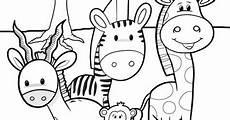 malvorlagen frozen jungle animal coloring pages for safari friends