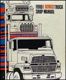free auto repair manuals 2012 ford e350 lane departure warning 1983 1987 ford l series 7000 9000 repair shop manual original 2 volume set