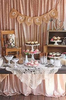 vintage wedding dessert table michaels weddings bridal shower rustic wedding decorations
