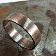 elegant bronze ring rustic wedding ring from crazyass jewelry