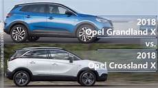 crossland x dimensions 2018 opel grandland x vs 2018 opel crossland x technical