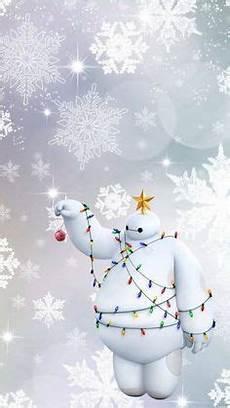 disney winter iphone wallpaper baymax fa la la la la by maichan winter
