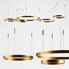 henge ring light horizontal 3d for corona vray