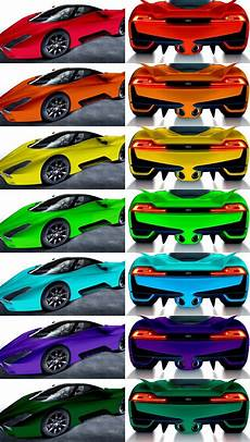 100 color renders of ssc tuatara paint test proves